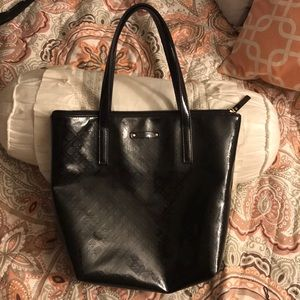 Kate spade black handbag 11 1/2 inches by 9 inches